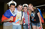 Russia fans (RUS),<br /> JUNE 17, 2014 - Football / Soccer :<br /> FIFA World Cup Brazil 2014 Group H match between Russia 1-1 South Korea at Arena Pantanal in Cuiaba, Brazil. (Photo by SONG Seak-In/AFLO)