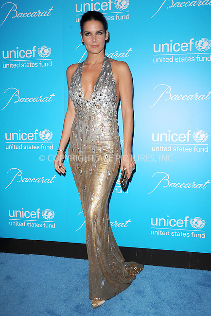 WWW.ACEPIXS.COM . . . . . .November 29, 2011, New York City....Angie Harmon attends 2011 UNICEF Snowflake Ball at Cipriani 42nd Street on November 29, 2011 in New York City. ....Please byline: KRISTIN CALLAHAN - ACEPIXS.COM.. . . . . . ..Ace Pictures, Inc: ..tel: (212) 243 8787 or (646) 769 0430..e-mail: info@acepixs.com..web: http://www.acepixs.com .