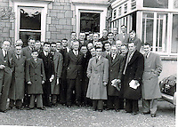 "Dr Eamonn O""Sullivan and members of the Kerry County Board in the 1950's.Picture by Harry MacMonagle"