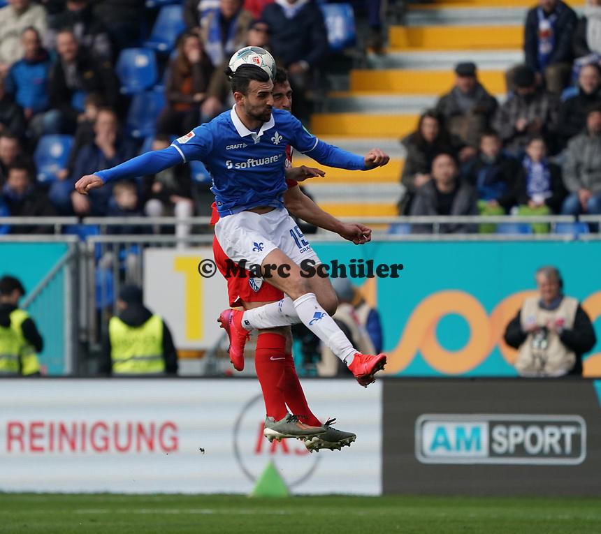 Serdar Dursun (SV Darmstadt 98) - 07.03.2020: SV Darmstadt 98 vs. VfL Bochum, Stadion am Boellenfalltor, 2. Bundesliga<br /> <br /> DISCLAIMER: <br /> DFL regulations prohibit any use of photographs as image sequences and/or quasi-video.