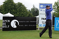 Calum Hill (SCO) in action during the first round of the Hauts de France-Pas de Calais Golf Open played at Aa Saint-Omer GC, Saint - Omer, France. 13/06/2019<br /> Picture: Golffile | Phil Inglis<br /> <br /> <br /> All photo usage must carry mandatory copyright credit (© Golffile | Phil Inglis)