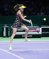 AGNIESZKA RADWANSKA (POL)<br /> <br /> The BNP Paribas WTA Finals 2014 - The Sports Hub - Singapore - WTA  2014  <br /> <br /> 20 October 2014<br /> <br /> &copy; AMN IMAGES