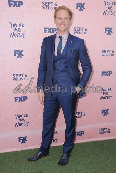 "29 August  2017 - Los Angeles, California - Chris Geere. FXX's ""You're the Worst"" Season Four Premiere held at Museum of Ice Cream in Los Angeles. Photo Credit: Birdie Thompson/AdMedia"