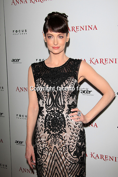 """Alex Lombard at the premiere of """"Anna Karenina"""" at ArcLight Hollywood on November 14, 2012 in Los Angeles, California. ..Credit: Martin Smith/face to face"""
