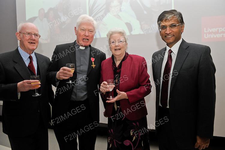 Monsignor John Devine Dinner 24.3.11 Liverpool Hope University...Photos by Alan Edwards