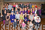 Family and friends of Kelly-Ann Lynch (seated 4th from left) Ashe Grove, Tralee,helped her to celebrate her 18th Birthday in the Abbey Gate Hotel, Tralee on Saturday night...............   Copyright Kerry's Eye 2008