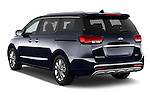 Car pictures of rear three quarter view of a 2015 KIA Sedona SX Limited 4 Door Minivan Angular Rear
