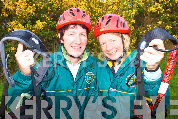 TURAS BEAG: Sheila Kerley, Castleisland and Tina Reid, Killarney who will be participating in Turas Beag in Killarney this weekend to help raise funds for Debra Ireland.   Copyright Kerry's Eye 2008
