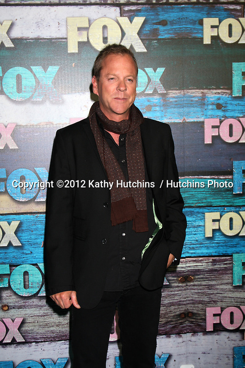 LOS ANGELES - JUL 23:  Kiefer Sutherland arrives at the FOX TCA Summer 2012 Party at Soho House on July 23, 2012 in West Hollywood, CA