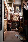 USA, Utah, Bluff, artist JR Lancaster's Cloudwatcher Studio