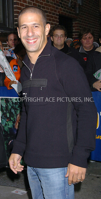 WWW.ACEPIXS.COM . . . . .  ....NEW YORK, OCTOBER 20, 2004....Tony Kannan arrives for an appearance on The Late Show with David Letterman in NYC.....Please byline: AJ Sokalner - ACE PICTURES..... *** ***..Ace Pictures, Inc:  ..Alecsey Boldeskul (646) 267-6913 ..Philip Vaughan (646) 769-0430..e-mail: info@acepixs.com..web: http://www.acepixs.com