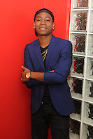FORT LAUDERDALE, FL - MARCH 06: RJ Cyler visits  iHeart Radio Station Y100 on March 6, 2017 in Fort Lauderdale, Florida. Credit: mpi04/MediaPunch