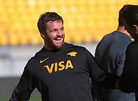 Jaguares captain's run at Westpac Stadium in Wellington, New Zealand on Thursday, 16 May 2019. Photo: Dave Lintott / lintottphoto.co.nz