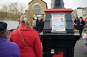Metropolitan Police Missing Person poster in Camden Lock market