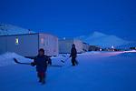 Nunavut winter