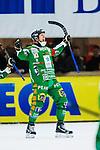 V&auml;ster&aring;s 2014-03-08 Bandy SM-semifinal 4 V&auml;ster&aring;s SK - Hammarby IF :  <br /> Hammarbys Stefan Erixon jublar efter att ha gjort 2-1 p&aring; straff <br /> (Foto: Kenta J&ouml;nsson) Nyckelord:  VSK Bajen HIF jubel gl&auml;dje lycka glad happy
