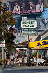 Sunset Plaza, Sunset Strip