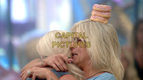 Celebrity Big Brother, Summer 2016, Day 21<br /> Samantha Fox and mum.<br /> *Editorial Use Only*<br /> CAP/KFS<br /> Image supplied by Capital Pictures