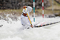 Takuya Haneda (JPN), APRIL 15, 2012 - Canoeing : 2012 Canoeing NHK Cup Slalom Competitions, Men's Canadian Single race final at Ida River, Toyama, Japan. (Photo by Yusuke Nakanishi/AFLO SPORT) [1090]