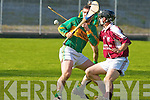 Causeway's Stephen Goggin and Lixnaw's Patrick Dowling..   Copyright Kerry's Eye 2008