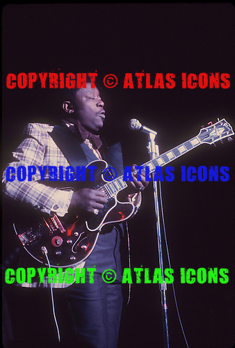 BB KING, LIVE, 1974, NEIL ZLOZOWER,