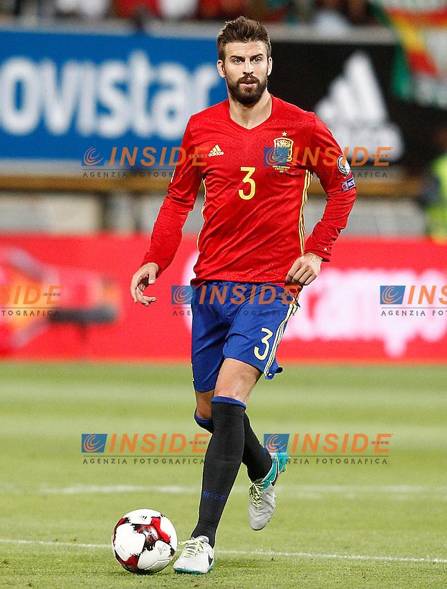 Spain's Gerard Pique during FIFA World Cup 2018 Qualifying Round match. September 5,2016.(ALTERPHOTOS/Acero)<br /> Spagna - Liechtenstein <br /> Foto Insidefoto <br /> ITALY ONLY