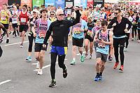 Chris Evans<br /> at the start of the London Marathon 2019, Greenwich, London<br /> <br /> ©Ash Knotek  D3496  28/04/2019
