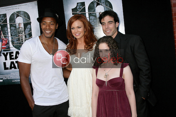 McKinley Freeman and Rachel Boston with Senta Moses and Aaron Michael Metchik<br />