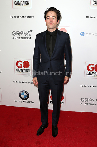 Los Angeles, CA - NOVEMBER 05: Robert Pattinson at The 10th Annual GO Campaign Gala in Los Angeles At Manuela, California on November 05, 2016. Credit: Faye Sadou/MediaPunch
