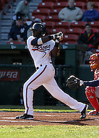 April 8, 2005:  Second Baseman Brandon Phillips of the Buffalo Bisons during a game at Dunn Tire Park in Buffalo, NY.  Buffalo is the International League Triple-A affiliate of the Cleveland Indians.  Photo by:  Mike Janes/Four Seam Images