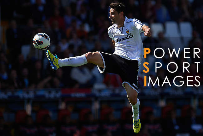VALENCIA, SPAIN - MAY 04: Jonas of Valencia CF in action during the Liga BBVA between Valencia CF and C.A Osasuna at the Mestalla stadium on May 04, 2013 in Valencia, Spain. Photo by Aitor Alcalde / Power Sport Images..