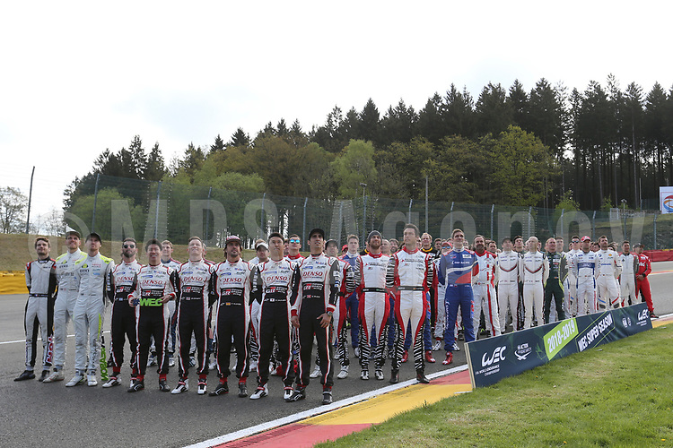 OFFICIAL PHOTOGRAPHY DRIVERS FIA WEC SUPER SEASON 2018 - 2019