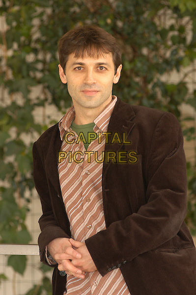 "LUIS PRIETO.Photocall for "" Ho voglia di te"" at Exedra Hotel, Rome, Italy..March 8th, 2007.half length brown suit jacket striped stripes .CAP/CAV.©Luca Cavallari/Capital Pictures"