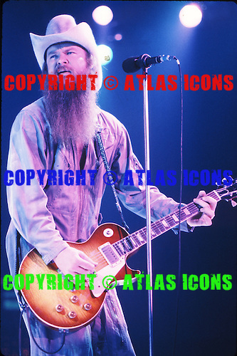 ZZ TOP, LIVE, 1982, NEIL ZLOZOWER