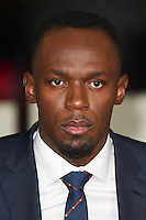 LONDON, UK. November 28, 2016: Usain Bolt at the &quot;I Am Bolt&quot; World Premiere at the Odeon Leicester Square, London.<br /> Picture: Steve Vas/Featureflash/SilverHub 0208 004 5359/ 07711 972644 Editors@silverhubmedia.com