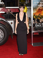 WESTWOOD, CA - OCTOBER 08: Actress Lulu Jovovich arrives at the Premiere Of Columbia Pictures' 'Only The Brave' at Regency Village Theatre on October 8, 2017 in Westwood, California.<br /> CAP/ROT/TM<br /> &copy;TM/ROT/Capital Pictures