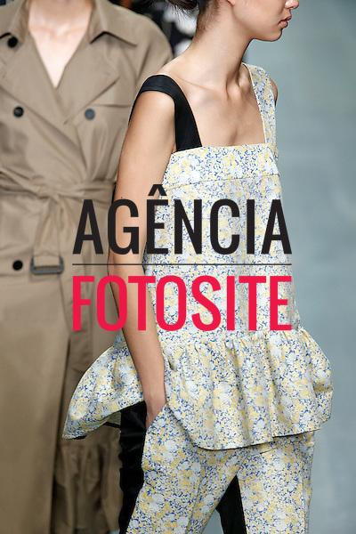 Londres, Inglaterra &sbquo;09/2014 - Desfile de Edun Choi durante a Semana de moda de Londres  -  Verao 2015. <br /> <br /> Foto: FOTOSITE