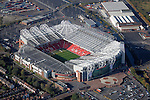 Aerial: Manchester United FC, Old Trafford