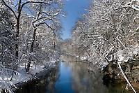 Wissahickon Cr., WinterPA, Philadelphia, Fairmount Park, Wissahickon Cr.