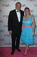 """Stewart F. Lane and Bonnie Comley attend The Breast Cancer Research Foundation """"Super Nova"""" Hot Pink Party on May 12, 2017 at the Park Avenue Armory in New York City."""