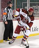 Chip McDonald, Alex Killorn (Harvard - 19) - The Union College Dutchmen defeated the Harvard University Crimson 2-0 on Friday, January 13, 2011, at Fenway Park in Boston, Massachusetts.