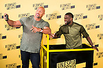"Americans actors Dwayne Johnson and Kevin Hart during the presentation of the film ""Un espia y medio"" at Hotel Villa Magna in Madrid. June 07. 2016. (ALTERPHOTOS/Borja B.Hojas)"