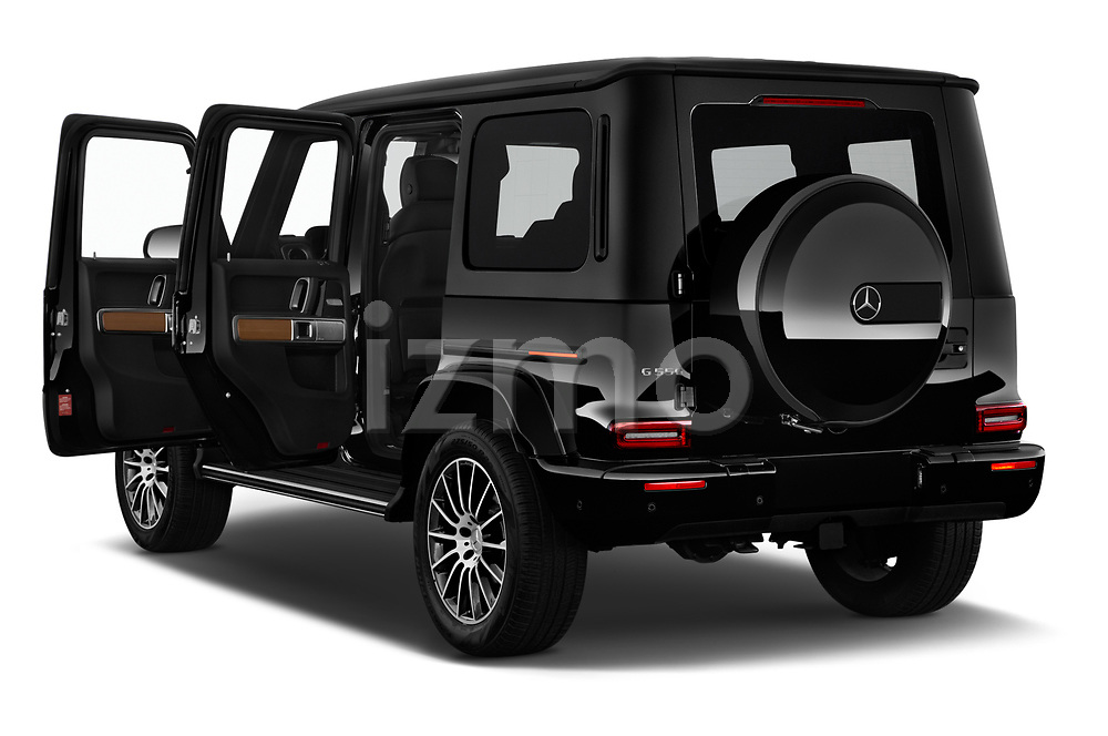 Car images close up view of a 2019 Mercedes Benz G-Class G-550 5 Door SUV doors
