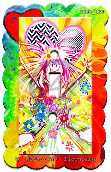 Marie, MODERN, MODERNO, paintings+++++switchplateHGSun,USJO123,#N# Joan Marie abstract