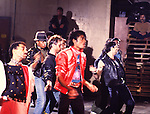 Michael Jackson 1983 'Beat It' Video.© Chris Walter.