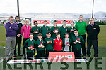 Scoil Muire na Mainistreach, Killarney, winners of the FAI Spar schools 5 aside soccer tournament in Christy Leahy Park on Tuesday who will go on to represent Kerry in the Munster finals