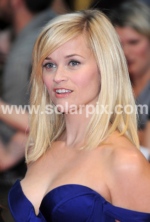 **ALL ROUND PICTURES FROM SOLARPIX.COM** **WORLDWIDE SYNDICATION RIGHTS** .The UK premiere of the new movie, Water for Elephants, held at the Vue Westfield in London. .This pic:        Reese Witherspoon .JOB REF: 13261 TLP DATE:    04.05.2011 .**MUST CREDIT SOLARPIX.COM OR DOUBLE FEE WILL BE CHARGED** **MUST AGREE FEE BEFORE ONLINE USAGE** **CALL US ON: +34 952 811 768 or LOW RATE FROM UK 0844 617 7637**