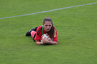 20200627 - TUBIZE , Belgium : Jill Janssens is pictured during a training session of the Belgian Red Flames U17, on the 27 th of June 2020 in Tubize.  PHOTO SEVIL OKTEM| SPORTPIX.BE