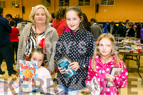 At Indoor Market to support the local branch of Kerry Parents & Friends at the Castleisland Community Centre on Friday were Sinead Murphy, Ava Tehan, Megan Dennehy and Amy Pidgeon