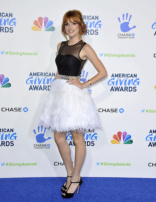 WWW.ACEPIXS.COM......December 7, 2012, Pasadena, CA.....Bella Thorne arriving at the 2nd Annual American Giving Awards at the Pasadena Civic Auditorium on December 7, 2012 in Pasadena, California.......By Line: Peter West/ACE Pictures....ACE Pictures, Inc..Tel: 646 769 0430..Email: info@acepixs.com